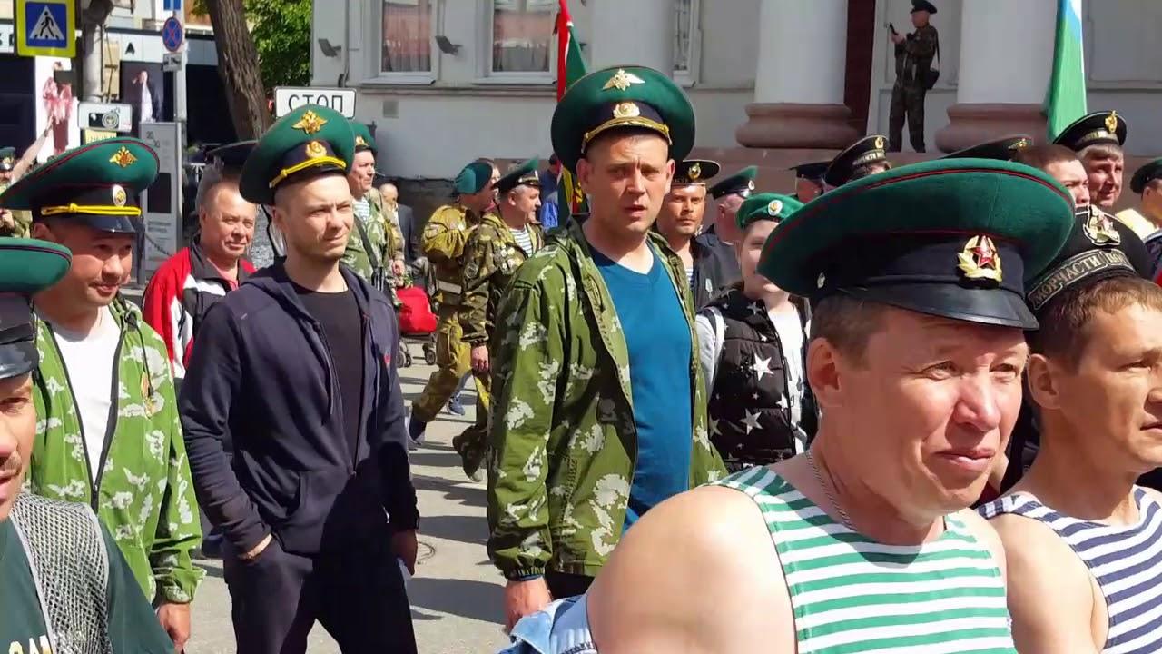 День пограничника пермь фото