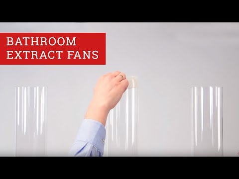 Bathroom Extract fans Demonstration