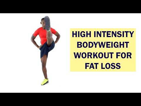 9-Minute High Intensity Bodyweight Workout for Fat Loss