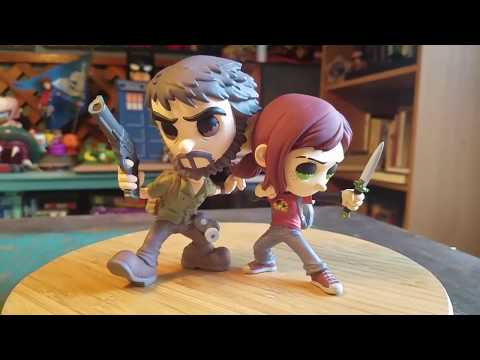 Last Of Us Joel And Ellie Esc Toys Naughty Dog Vinyl Figures Review