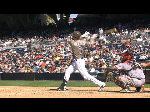 Headley belts his 31st homer of 2012
