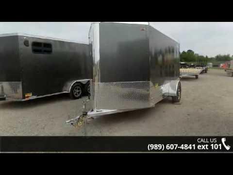 2016 Legend Trailers Deluxe V Nose Cargo 6X15DVNSA  - Bec...