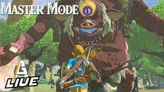 BOSS FIGHTS: Zelda BotW MASTER MODE LIVE