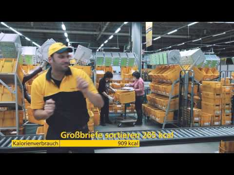 Fit mit Deutsche Post #postfit