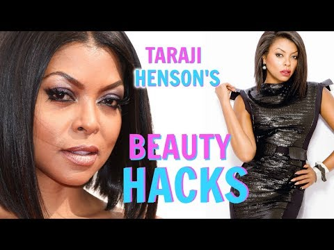 Taraji P. Henson's BEAUTY HACKS Every Girl Should Know!│Hair Hacks, Skin Care Secrets, Natural DIY's