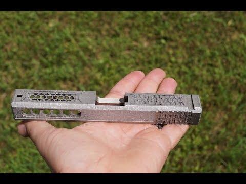 Glock 17 - CNC / Laser Cutting - Part 1