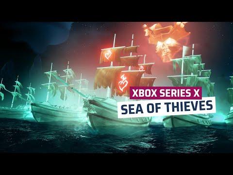 Сравнение скорости загрузки Sea of Thieves: Xbox Series X, Xbox One X, Xbox One