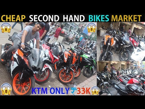 KTM JUST 30K RS | SECOND HAND BIKES MARKET | BIKES IN CHEAP PRICE| KTM | PULSAR | FZ | BULLET