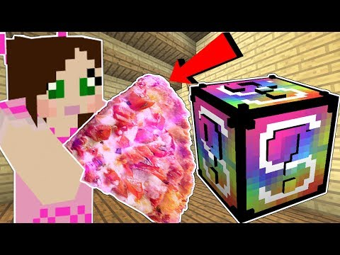 Minecraft: VIDEO GAMES LUCKY BLOCK! (GIANT FOOD, MARIO ARMOR
