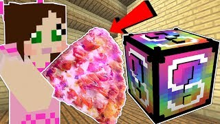 Minecraft: VIDEO GAMES LUCKY BLOCK! (GIANT FOOD, MARIO ARMOR, & MORE!) Mod Showcase