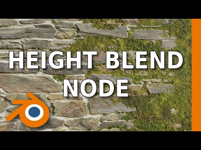 Blending Materials With Height Maps