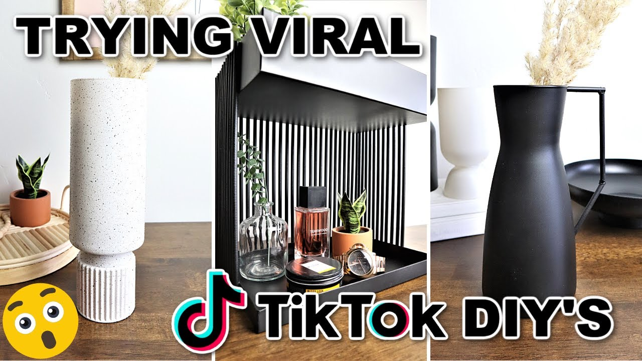 Download Must Try TikTok DIYs! Trying $1 TikTok DIY Room Decor (Best DIYs of 2021??)