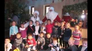 Дети АИТГ г.Алчевска на празднике Нового года в Луганске.