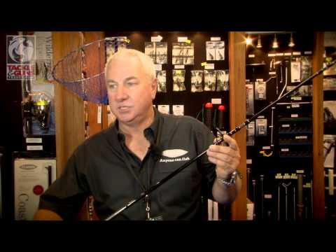 Fladen Nano Flex rods at Tackle & Guns Show