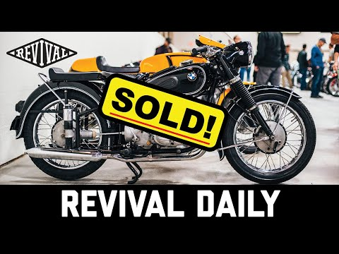 We bought a vintage BMW at Mecum! // Revival Daily #62