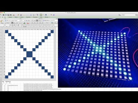 How To Use Excel To Animate LEDs!  Arduino + WS2812 LEDs