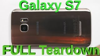 galaxy s7 complete tear down screen replacement charging port fix
