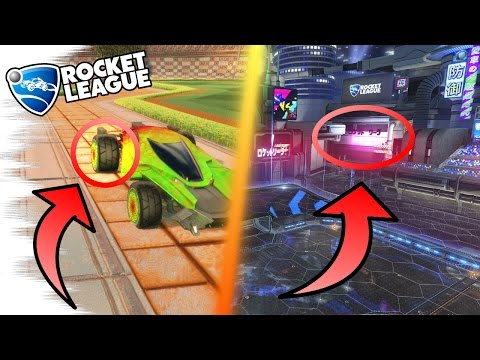 MANTIS GLITCH/MISTAKE! - 5 Rocket League SECRETS, EASTER EGGS, & GLITCHES! (Nitro Crates, Tips)