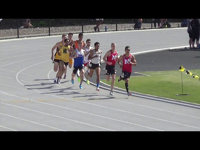 George Kusche 800 Meters Beach Invitational 4-20-2019