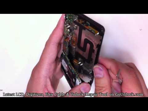 Motorola Droid 3 XT862 Screen Repair Disassemble Take Apart Video Guide