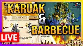 Karuak & Barbecue 🔴 Rise of Kingdoms ROK Fleisch