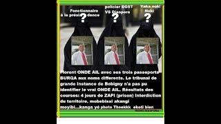 FLORENT ONDAYE ET SES 3 PASSEPORTS BURQA : INTERDIT DE SÉJOUR EN FRANCE PAR LE T.G.I DE ...