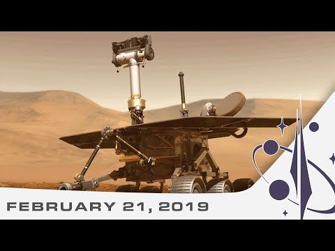 Space News | NASA's new Lunar plans, RemoveDEBRIS and saying goodbye to Oppy