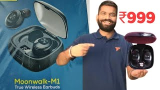 Wecool Moonwalk M1 Earbuds 💥custom review, rating & Overview💥 Digital Display | Cheapest Price ₹ 999