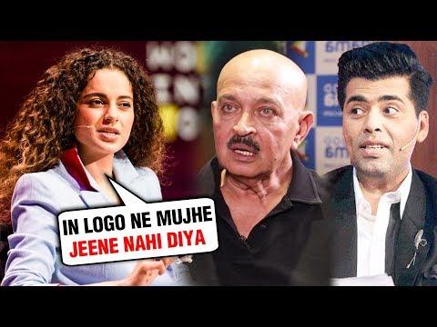 Kangana Ranaut ANGRY REACTION On Karan Johar, Rakesh Roshan AGAIN