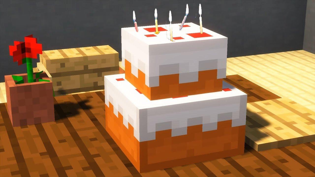 что делать с тортом в майнкрафте #1