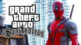 GTA San Andreas - Deadpool Mod