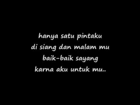baik-baik sayang by wali with lyrics
