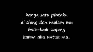 baik baik sayang by wali with lyrics MP3