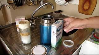 Как очистить термос - идеальный способ - проверям мифы