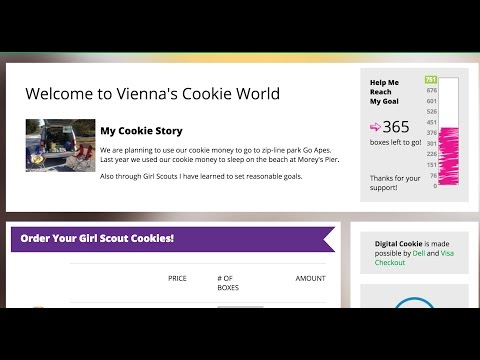 It's Girl Scout cookie time! Help Vienna reach 750 boxes.