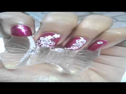 nail art in bali 2 floral