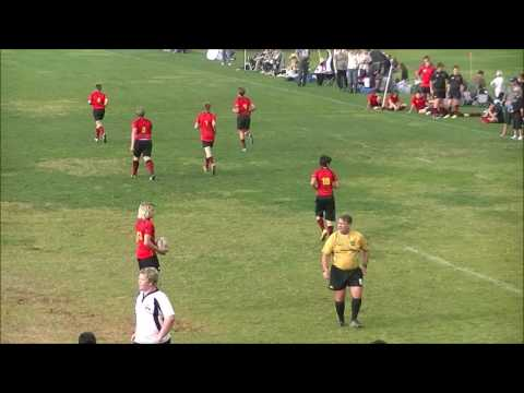 U14 Rugby Mustangs Santa Barbara A & B Games Dec 10 2016