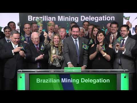 Brazilian Mining Delegation opens Toronto Stock Exchange, March 5, 2018