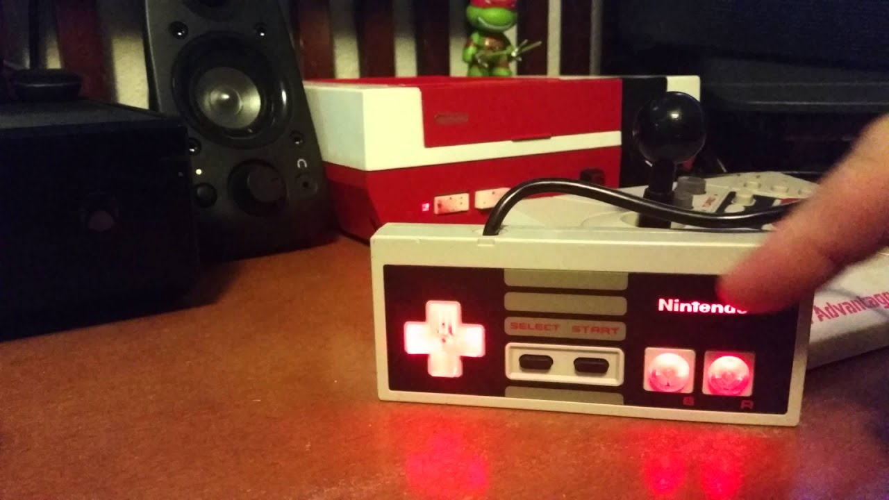 Nes Controller Led Mod