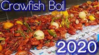 LOUISIANA STYLE CRAWFISH BOIL 2020 - 1ST BOIL OF THE SEASON!