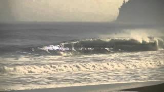 Surfing Waipio
