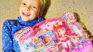 Shopkins ШОПКИНС! Набір Лялька Донатина! Розпакування іграшки! Shopkins Shoppies doll unboxing!