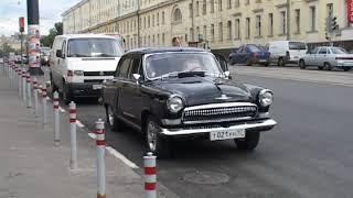 Прогулка на ГАЗ-21. Золотая свадьба.