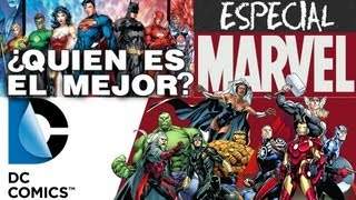 MARVEL vs DC COMICS el debate