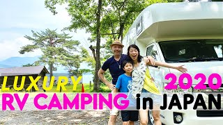 We Rented a Luxury Japanese Camper | An Epic Camping Trip in Japan's Mountains