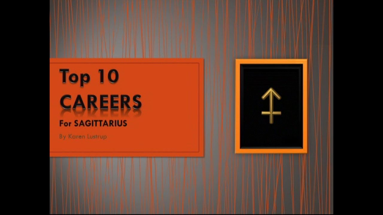 Best career options for sagittarius