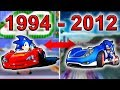 All Sonic racing games (1994-2012)