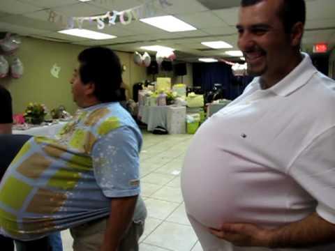 baby shower muy comico los hombres embarazdos youtube