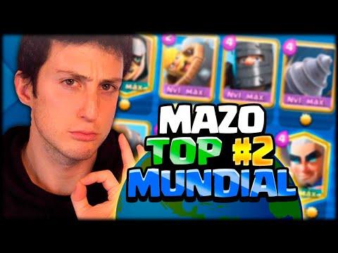 ESTOS SON LOS MEJORES MAZOS DEL TOP 200 MUNDIAL en Clash Royale