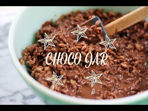 DIY Choco Jar